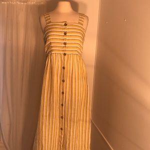 NWT Rachel Zoe Linen Summer Maxi Dress